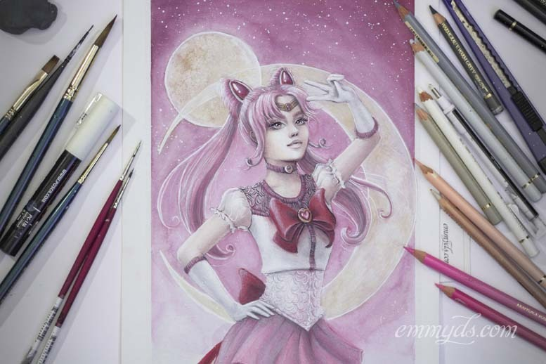 Sailor Chibi Moon finalizada.